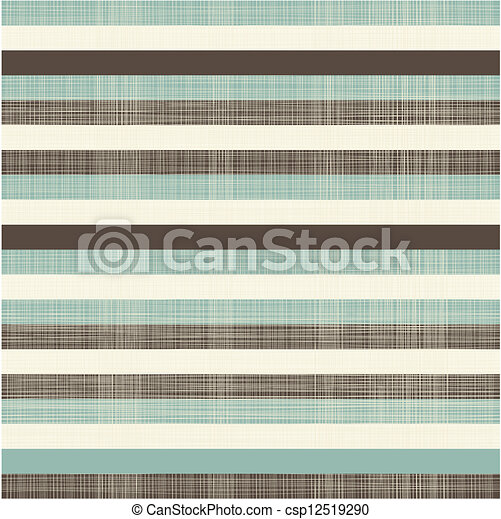 elegant retro horizontal lines seamless background - csp12519290