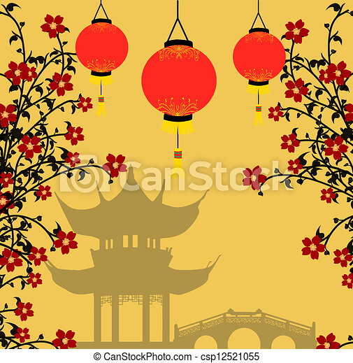 Clip Art Asian Clipart asian illustrations and clip art 143520 royalty free style background vector illustration traditional