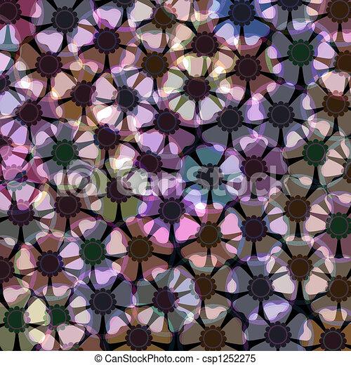 Anemone flower pattern - csp1252275