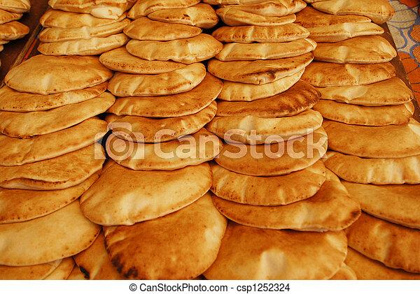 Stock foto van arabisch brood de arabisch brood for Van nederlands naar arabisch