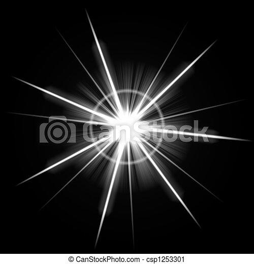 Bright Lens Flare Burst - csp1253301