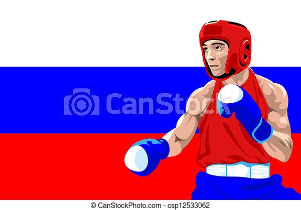 Amateur boxing clip