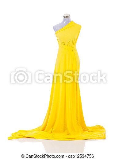 fashion dress on mannequin - csp12534756