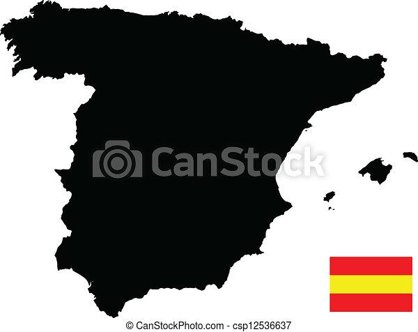 有关地图, 西班牙csp12536637的矢量格式文件-搜索