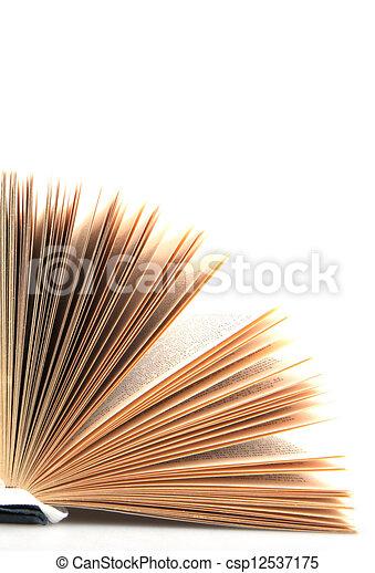 open book - csp12537175
