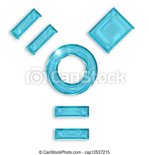 Clipart of firewire blue logo isolated on white background ...