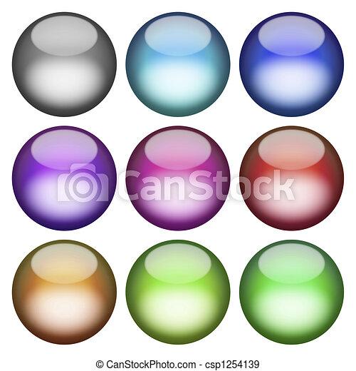 3D Buttons Pack - csp1254139