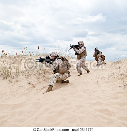 military operation - csp12541774