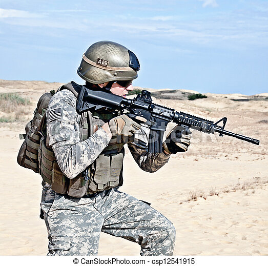 military operation - csp12541915