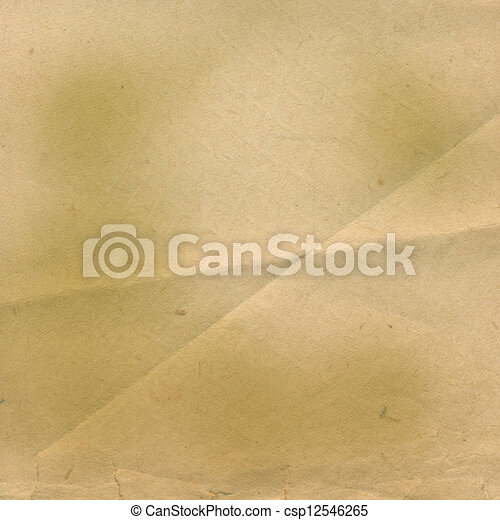 Grunge ancient used paper in scrapbooking style - csp12546265