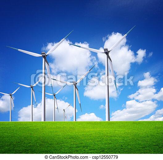 Ecological horizon - csp12550779