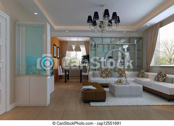Stock illustration von inneneinrichtung wohnzimmer for Wohnzimmer inneneinrichtung