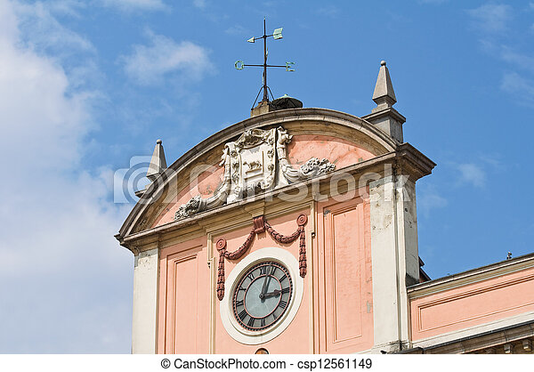 Government Building. Piacenza. Emilia-Romagna. Italy. - csp12561149
