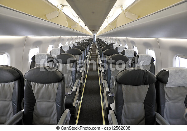 Photographies de int rieur passager avion photo de for Interieur avion