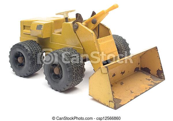 玩具, 挖掘者 - csp12566860