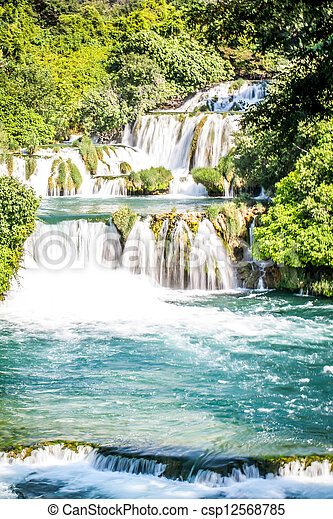 Waterfalls - csp12568785