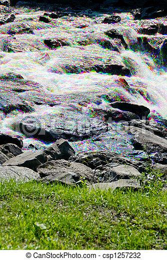 Glittering Stream  - csp1257232