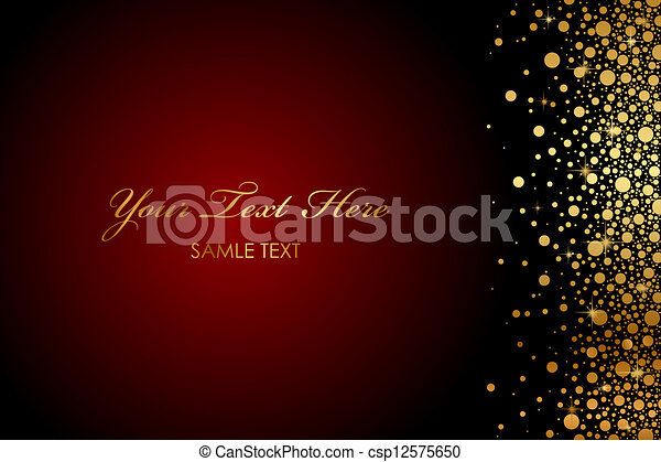 Gold Sparkles Clipart With Gold Sparkles