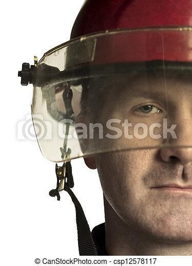 firemans half face