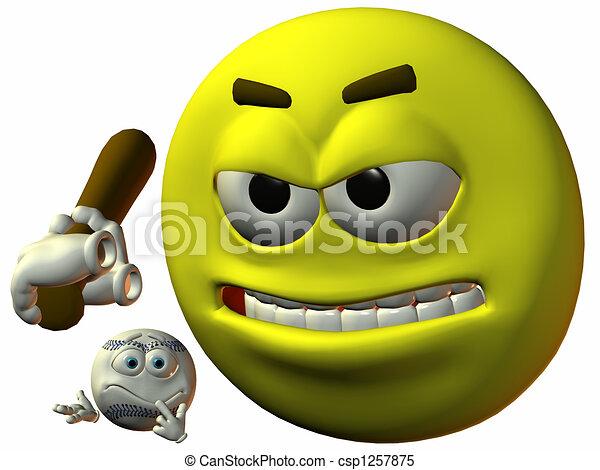 Smiley Sports - csp1257875