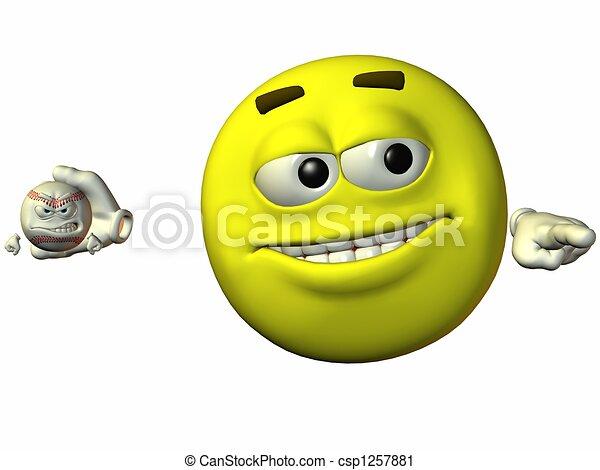 Smiley Sports - csp1257881