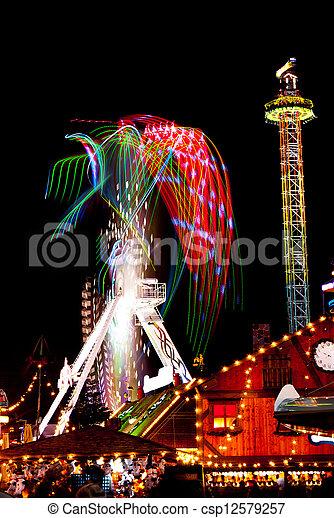 Amusement park - csp12579257