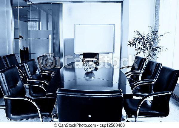 Modern office interior - csp12580488