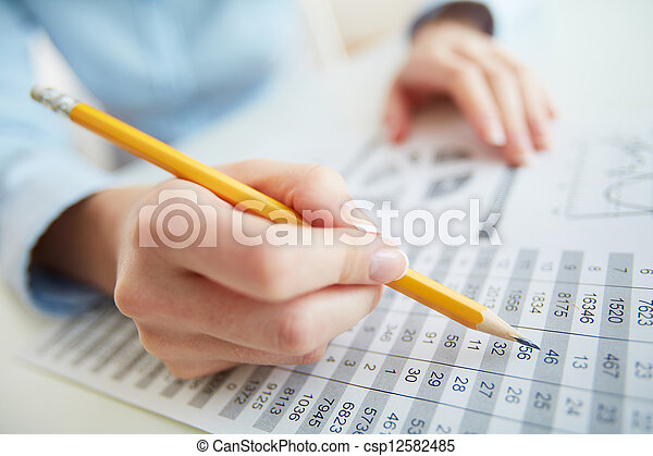 Accounting - csp12582485