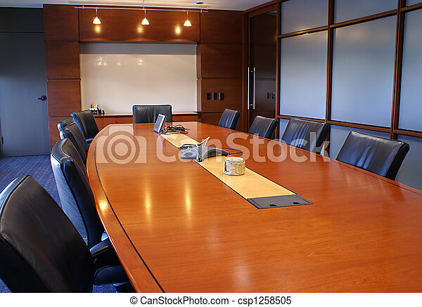 Training or corporate meeting room. - csp1258505