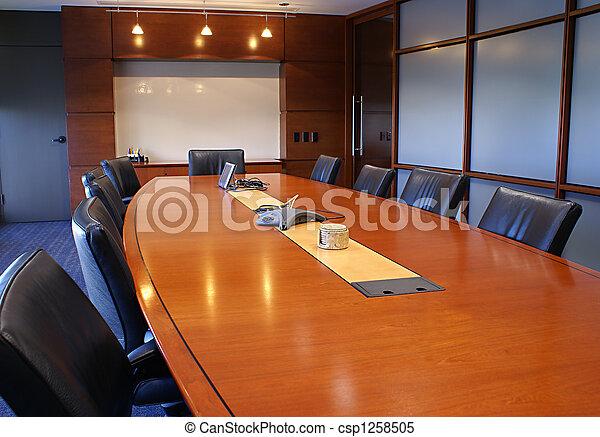 Training or corporate meeting room. - csp1258505