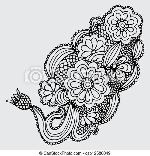 Back gt Gallery For Art Design Drawing Flower
