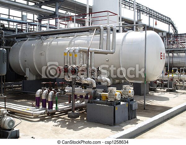 Oil refining factory - csp1258634