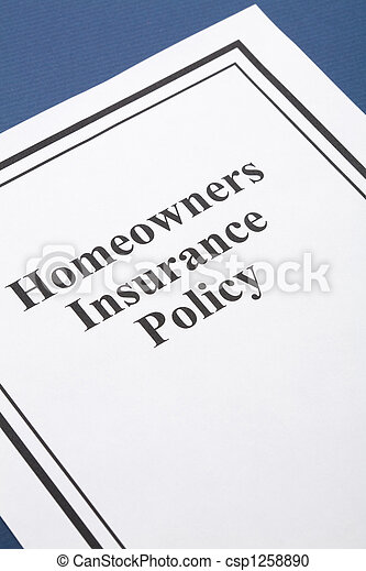 Homeowners Insurance - csp1258890