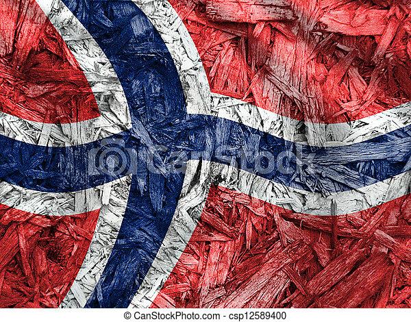 Flag of Norway - csp12589400