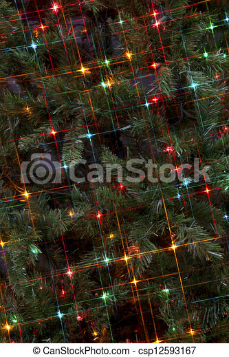holiday lights - csp12593167
