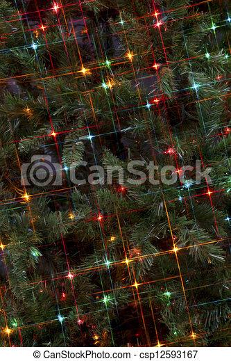 holiday lights - csp12593167