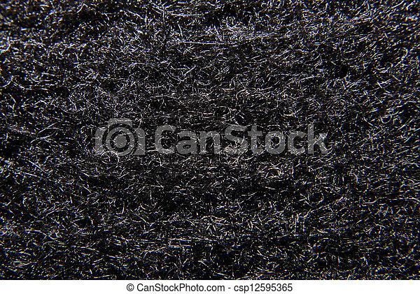 carbon fiber detail - csp12595365