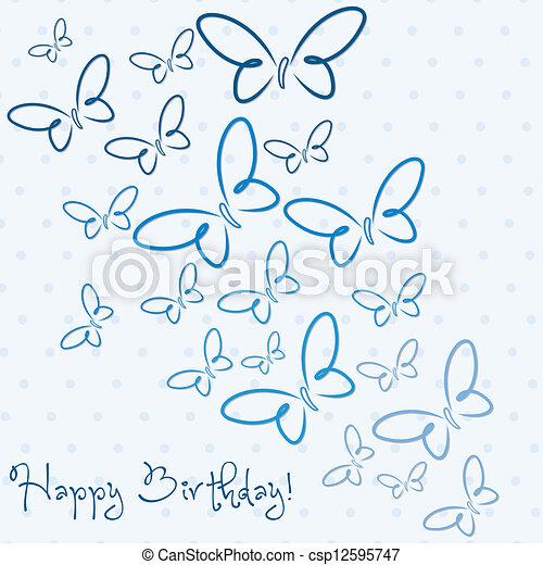 Happy Birthday! - csp12595747