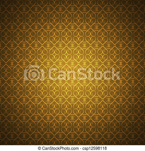 Stock de fotograf a de dorado papel pintado golpeteo for Papel pintado marron y dorado