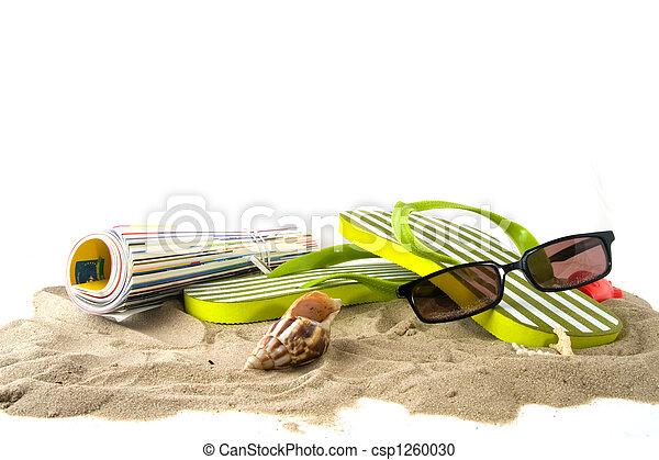 sandstrand, urlaub - csp1260030