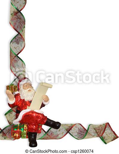 cintas frontera navidad santa csp