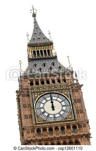 Big Ben at midday - csp12601110
