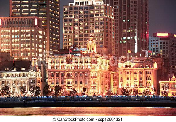 Shanghai historic architecture - csp12604321
