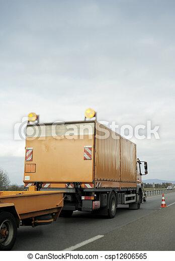 Emergency vehicle - csp12606565