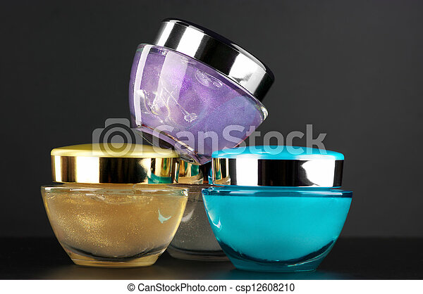 Cosmetic creams - csp12608210
