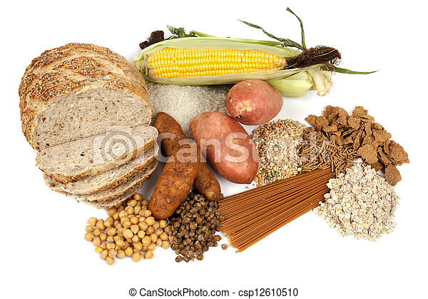 Complex Carbohydrates Food Sources - csp12610510