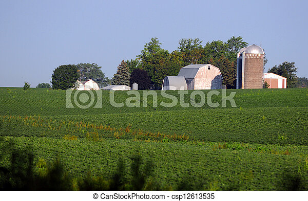 agriculture farm - csp12613535