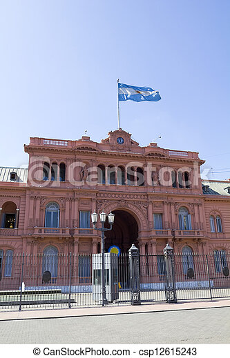 Argentine Government House - csp12615243