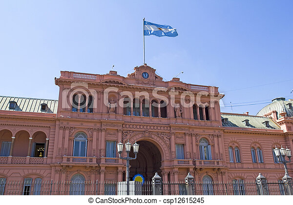 Argentine Government House - csp12615245