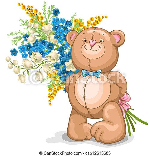 Teddy Bear toy - csp12615685